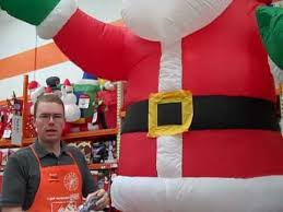 Small Picture How To Set Up Inflatable Holiday Decorations The Home Depot