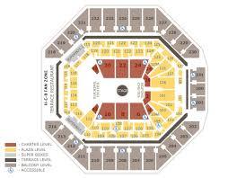 seating charts att center