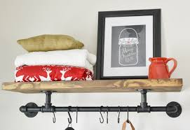 Coat Rack Shelf Diy DIY Industrial Coat Rack Beneath My Heart 10