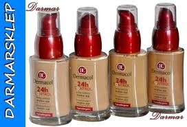 dermacol 24h control makeup dermacol 24h control podkład q10 kolory01 02 03 04 dermacol 24h control makeup