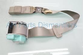 2009 toyota corolla rear mid seat belt beige 73470 02301 e0 replacement
