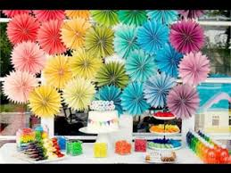 easy diy kids birthday party decoration ideas youtube