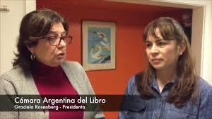 Cámara Argentina del Libro - Graciela Rosenberg - YouTube