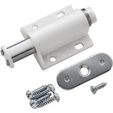 Magnetic Touch Latch - White - Cabinet And Furniture Latches ...