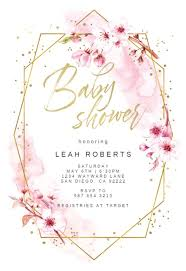 Free Printable Baby Shower Invitations For Girls Baby Shower Invitation Templates Free Greetings Island