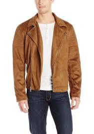 guess men s asymmetrical biker jacket