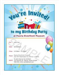invitation sles for birthday party valid valid invitation format for birthday party