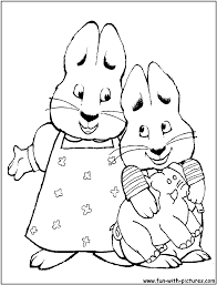 Small Picture Max And Ruby Colouring Pages Coloring Coloring Pages