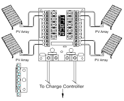 diagram of solar array diagram wiring diagram, schematic diagram Solar Combiner Box Wiring Diagram 2013 04 01 archive as well wiring solar panels series or parallel additionally weeb umc grounding Solar Combiner Box Home Depot