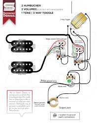 wiring diagrams seymour duncan part 24 2 hum 2 volume push pull series parallel 1 tone 3 way toggle