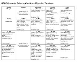 gcse computer science revision timetable outwood grange academy gcse computer science revision timetable