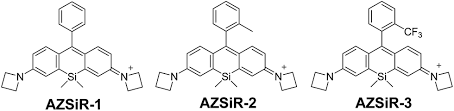 Near Infrared Probes Based On Fluorinated Si Rhodamine For