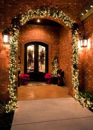 how to hang garland around front doorA Contractors Secrets to Hanging Holiday Decor