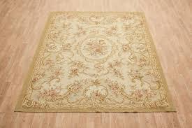 chinese aubusson needlepoint rug cau022850 cau022850a