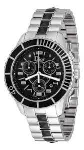 ladies christian dior riva chronograph watch w pink sapphire s christian dior men s cd114317m001 christal black chronograph dial watch