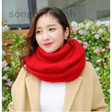 Girls Winter <b>Wool Collar Collar</b> Keep Warm <b>Thickening</b> Scarf ...