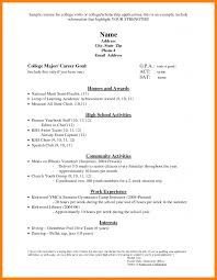 Scholarship Resume Objective Digitalpromots Com College Examples Of