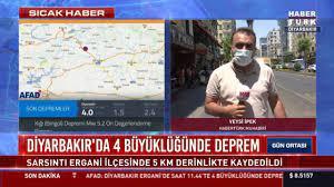SON DAKİKA: Diyarbakır'da 4.0 büyüklüğünde deprem oldu! 16 Temmuz Kandilli  Rasathanesi ve AFAD son depremler l