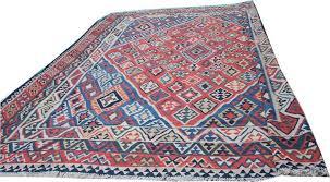 large qashqai kilim 485 x 410cm