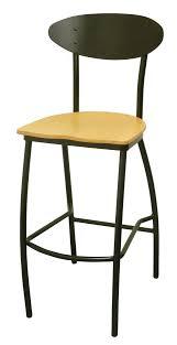 wood metal bar stools. Modern Metal Stool, Natural Wood Seat Bar Stools