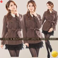 trench coat spring coat jacket outerwear autumn winter spring spring coat winter coat short length office mrs 20s 30s 40s 50s simple classy elegant