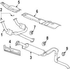 parts com® genuine factory oem 2006 gmc envoy denali v8 5 3 diagrams