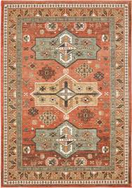 oriental weavers toscana 9571a orange gold area rug
