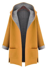 winter coats hooded long sleeve two pockets coat becpvod