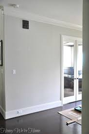 light gray paint colorsHow to Paint Perfect Wide Stripes  Sherwin williams agreeable