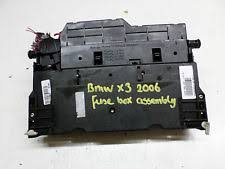 bmw x3 fuses fuse boxes 2008 bmw x3 e83 diesel fuse box assembly fuses