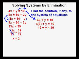 Algebra 2 Course Lesson 12 Solving Systems of Equations by ...