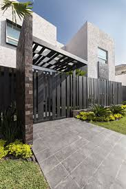 modern metal fence design. Excellent Some Considerations In Choosing Home Fence Design Brick Carport Designs Modern Metal 0