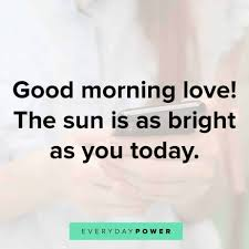 good morning text messages for her love