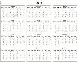 free printable 12 month calendar 12 month calendar 2013 free printable 2013 monthly calendars 2013