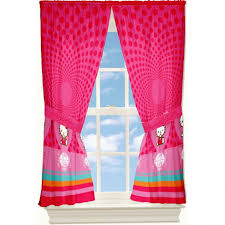 Pink Curtains For Bedroom Baby Nursery Decorative Window Curtains For Room Decors Green