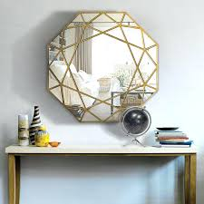 wall mirror decorative modern round mirror glass console mirror geometric wall mirror decorative mirrored wall art in decorative mirrors from home garden on