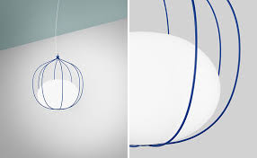 front design have created a new pendant light called hoop for swedish lighting manufacturer zero