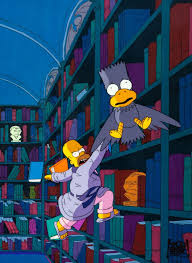 The Simpsons Treehouse Of Horror XIX Canvas Giclee Print  Art Simpsons Treehouse Of Horror Raven
