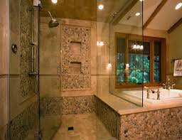 Easy Natural Stone Bathroom Tile Ideas In Inspirational Home Decorating  with Natural Stone Bathroom Tile Ideas