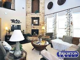 brighton stone and fireplace stone and fireplace two story living room featuring fireplace with stone accents brighton stone and fireplace