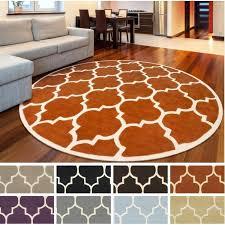 round orange rug round hand tufted rug bright orange rug round orange rug