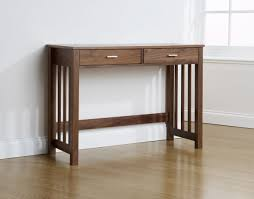 modern white console table. Cabinet Modern White Console Table With Drawers Astonishing Two Drawer In Walnut Wood I