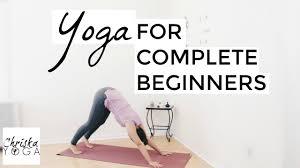 yoga flow for plete beginners 40 min beginner vinyasa flow at home yoga