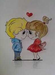 cartoon love couple wallpaper hd new