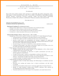 9 Product Manager Resume Mla Cover Page