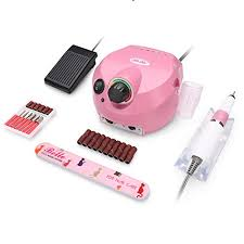 professional electric nail drill handpiece manicure machine pen handle for 288 278 connection 35000rpm pink as described