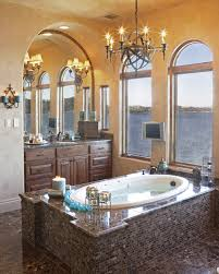 Mediterranean Bathroom by Austin Architects & Designers Vanguard Studio Inc.