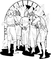 Small Picture Fiery furnace Bible coloring page Daniel Pinterest Bible