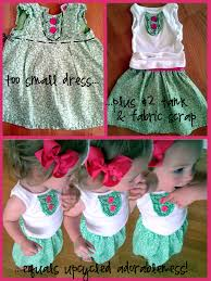 Upcycle Old Clothes Another Day Another Little Girls Upcycled Outfit Campclem