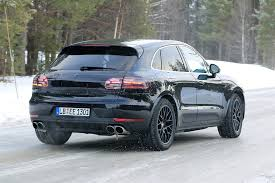porsche macan restyling 2018. brilliant restyling 1 di 8 for porsche macan restyling 2018